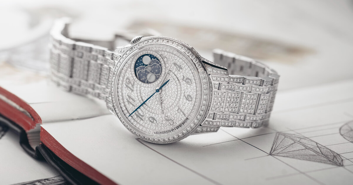 Vacheron Constantin Égérie Moon Phase Jewellery (Price, Pictures and Specifications)
