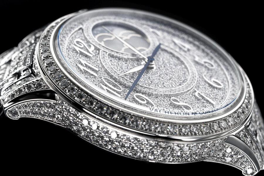 Vacheron Constantin Égérie Moon Phase Jewellery