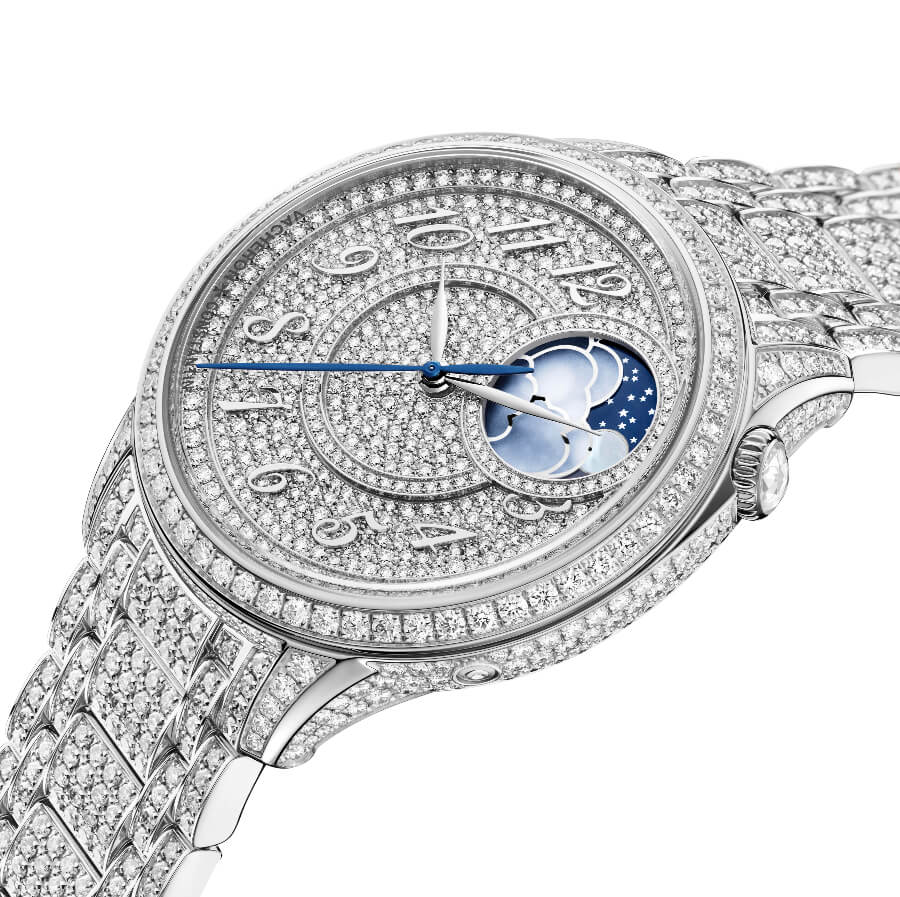 The New Vacheron Constantin Égérie Moon Phase Jewellery
