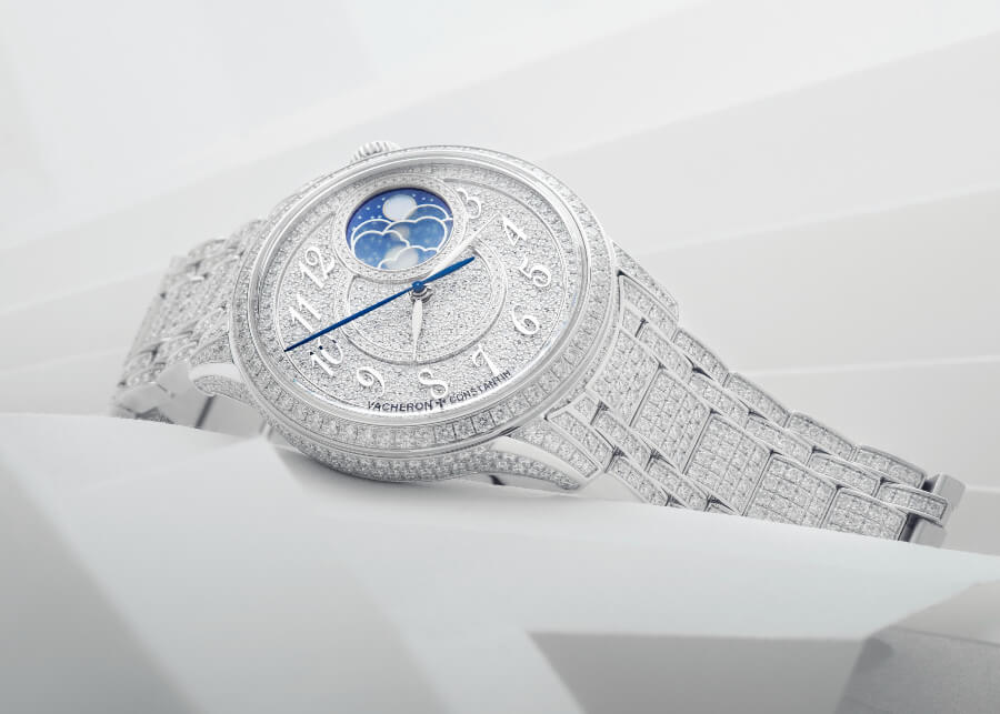 Vacheron Constantin Égérie Moon Phase Jewellery Reference: 8016F/126G-B499
