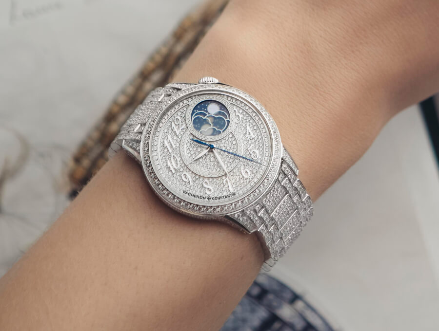 Vacheron Constantin Égérie Moon Phase Jewellery Watch Review