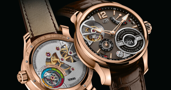 Greubel Forsey QP À Équation In A 5N Red Gold Millesime With A Chocolate Coloured Gold Dial (Price, Pictures and Specifications)