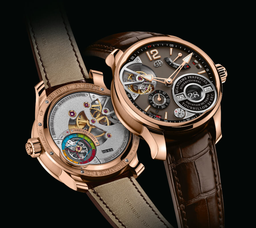 Greubel Forsey QP À Équation In A 5N Red Gold Millesime With A Chocolate Coloured Gold Dial Watch Review