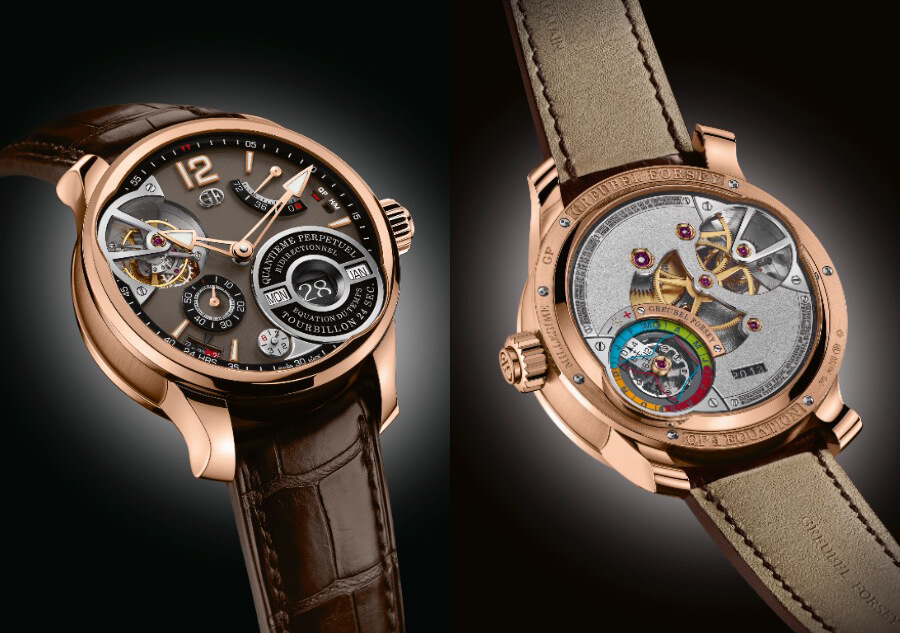 Greubel Forsey QP À Équation In A 5N Red Gold Millesime With A Chocolate Coloured Gold Dial