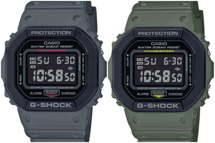 Casio G-Shock Street Utility Military Series DW5610SU-3/8