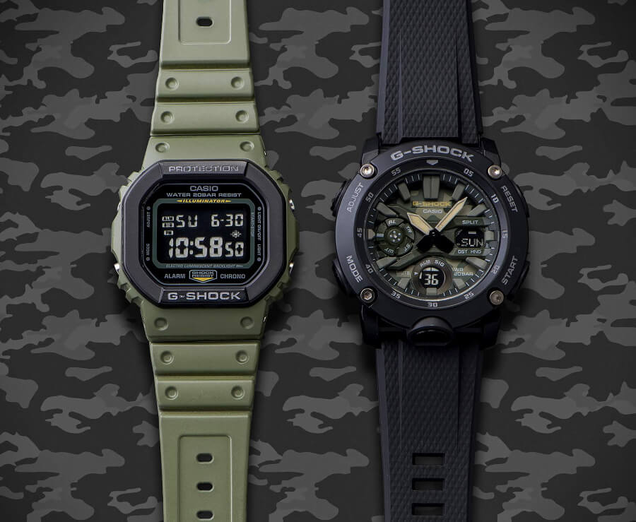 Casio G-Shock Street Utility Military Series Watch Review