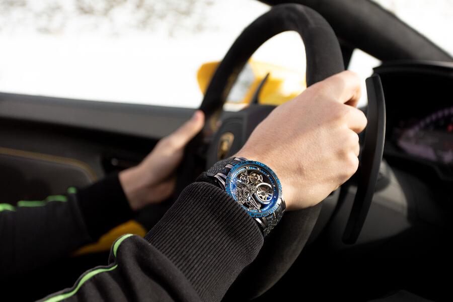 Roger Dubuis Excalibur Pirelli Ice Zero 2 Spider America Edition Watch review