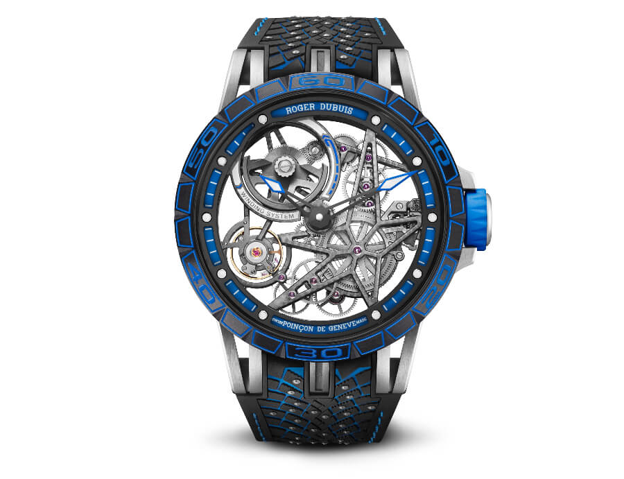 The New Roger Dubuis Excalibur Pirelli Ice Zero 2 Spider America Edition