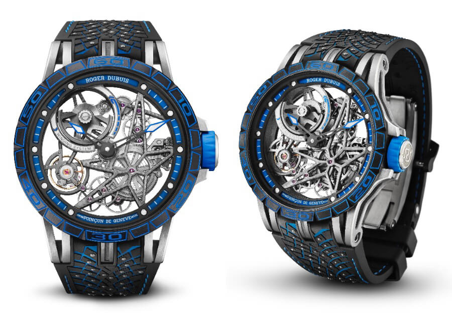 Roger Dubuis Excalibur Pirelli Ice Zero 2 Spider America Edition Watch Review