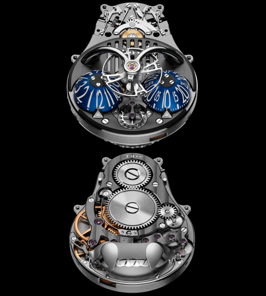 MB&F Horological Machine N°10 Bulldog Movement