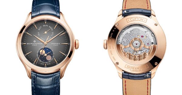 Baume & Mercier Clifton Baumatic Day-Date, Moon-Phase (Price, Pictures and Specs)