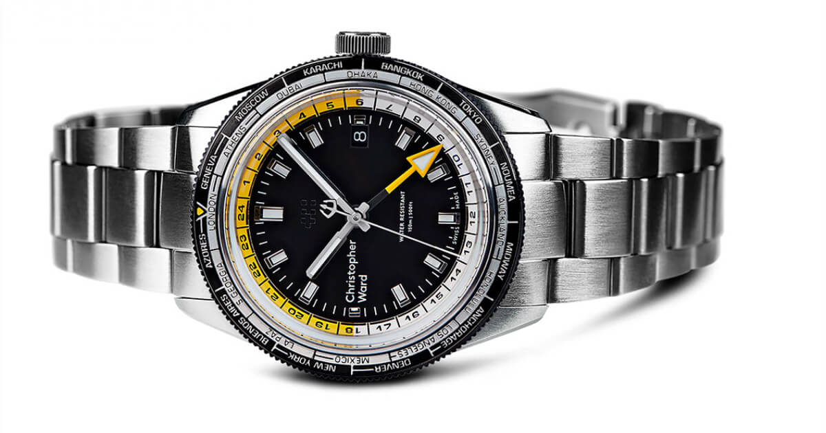 Christopher Ward C65 GMT Worldtimer (Price, Pictures and Specifications)