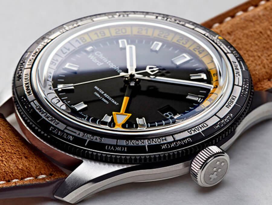 Christopher Ward C65 GMT Worldtimer