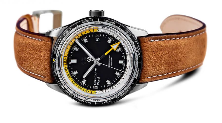 The New Christopher Ward C65 GMT Worldtimer