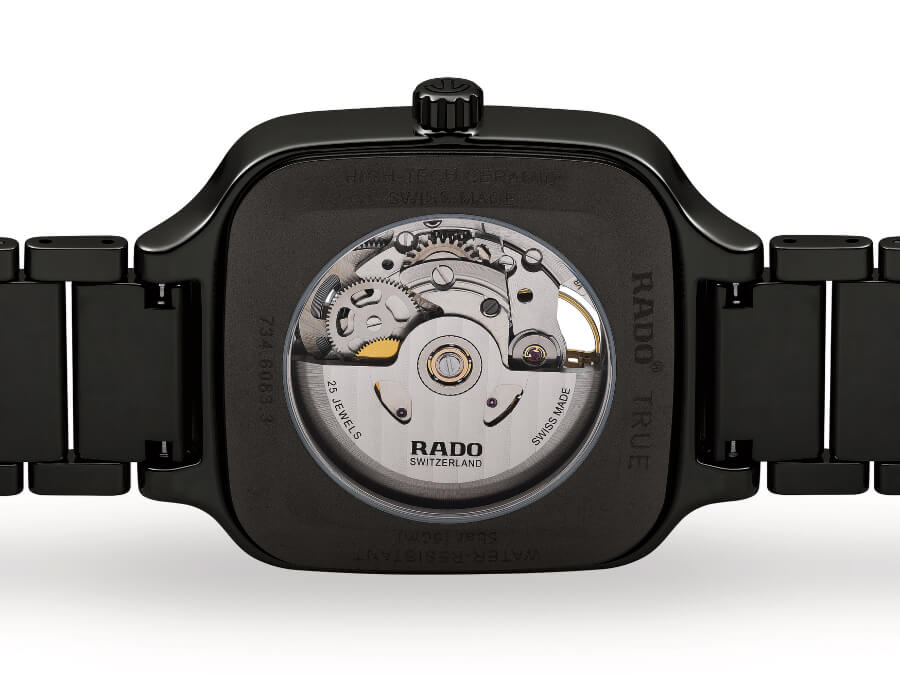 Rado True Square Open Heart Watch Movement