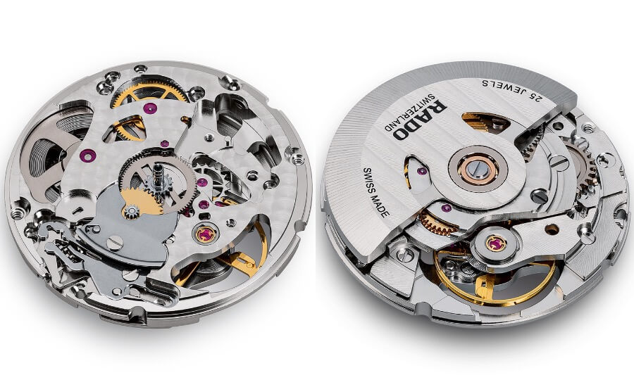 ETA C07.631 Watch Movement