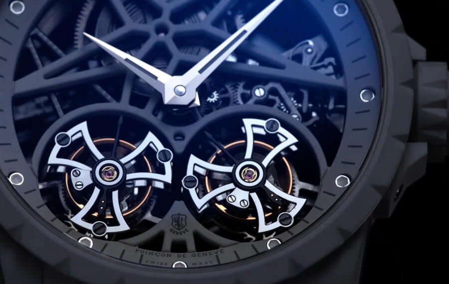 double flying tourbillon Watch