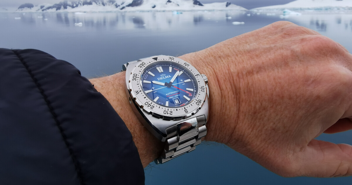 Delma Oceanmaster Antarctica Limited Edition (Price, Pictures and Specifications)