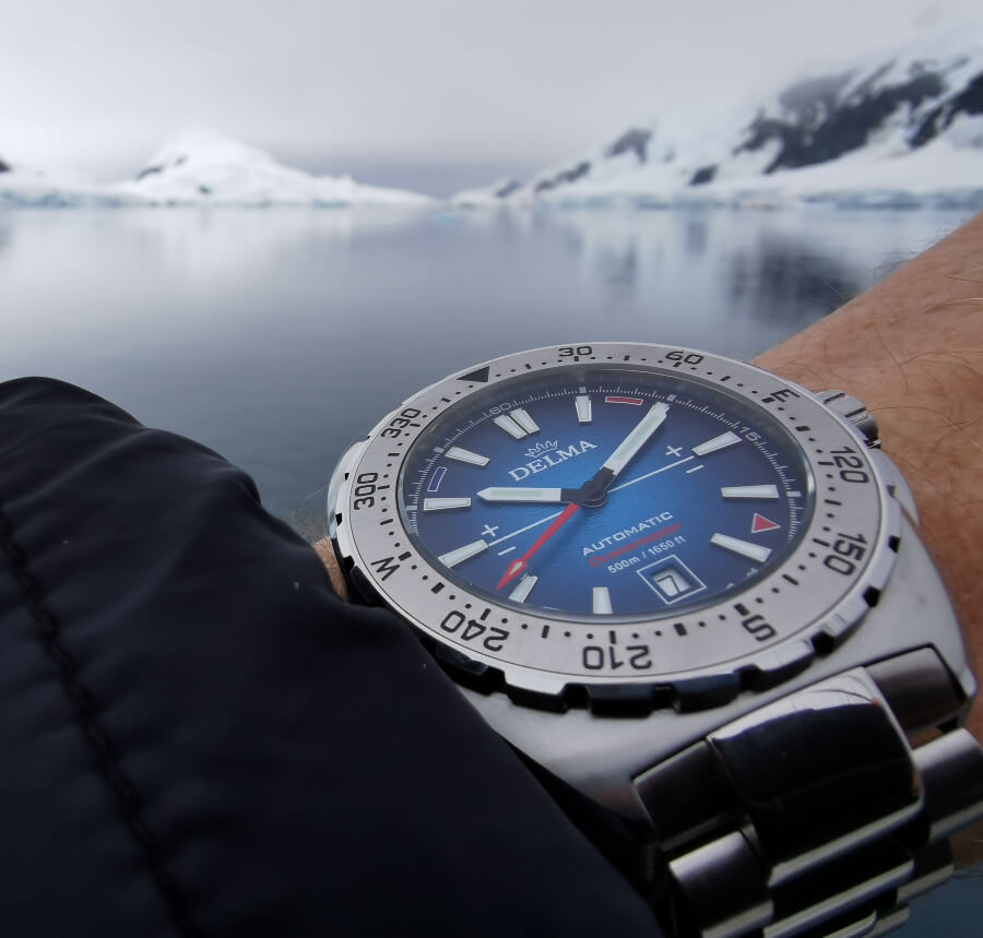 Delma Oceanmaster Antarctica Limited Edition Watch Review
