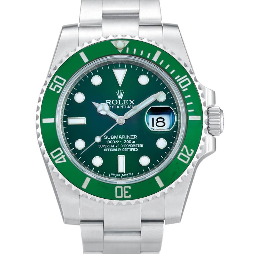 "Rolex Submariner ""Hulk"", Reference 116610LV"