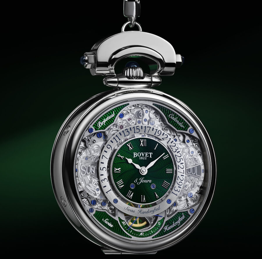 Bovet Virtuoso VII - pocket watch