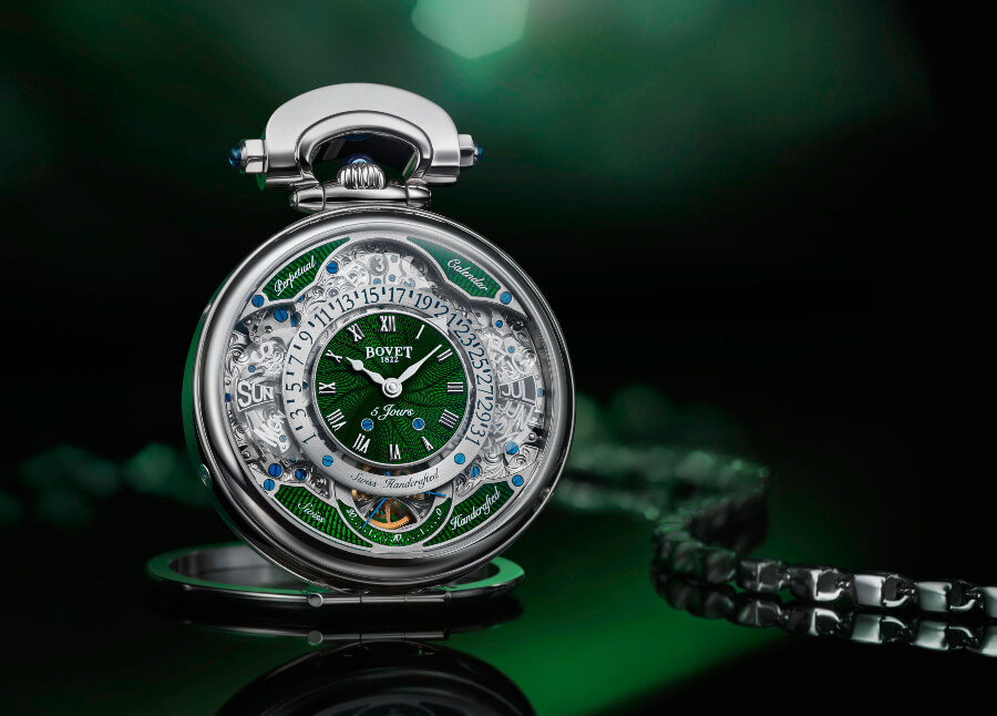 Bovet Virtuoso VII – table clock
