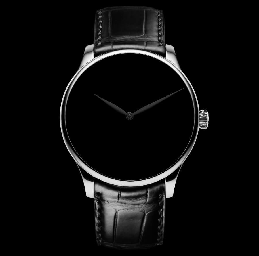 H. Moser & Cie. Venturer Vantablack Black Hands XL Ref. 2327-1213