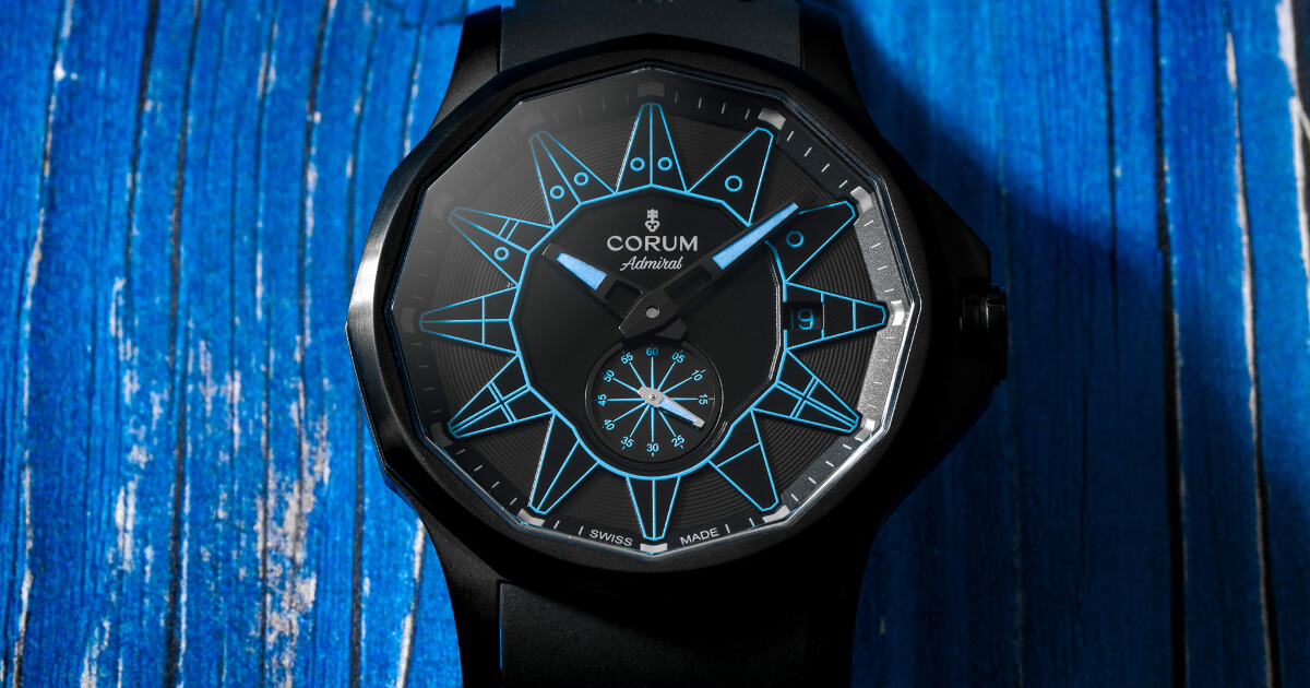 The New Corum Admiral 42 Automatic Full Black (Price, Pictures and Specifications)