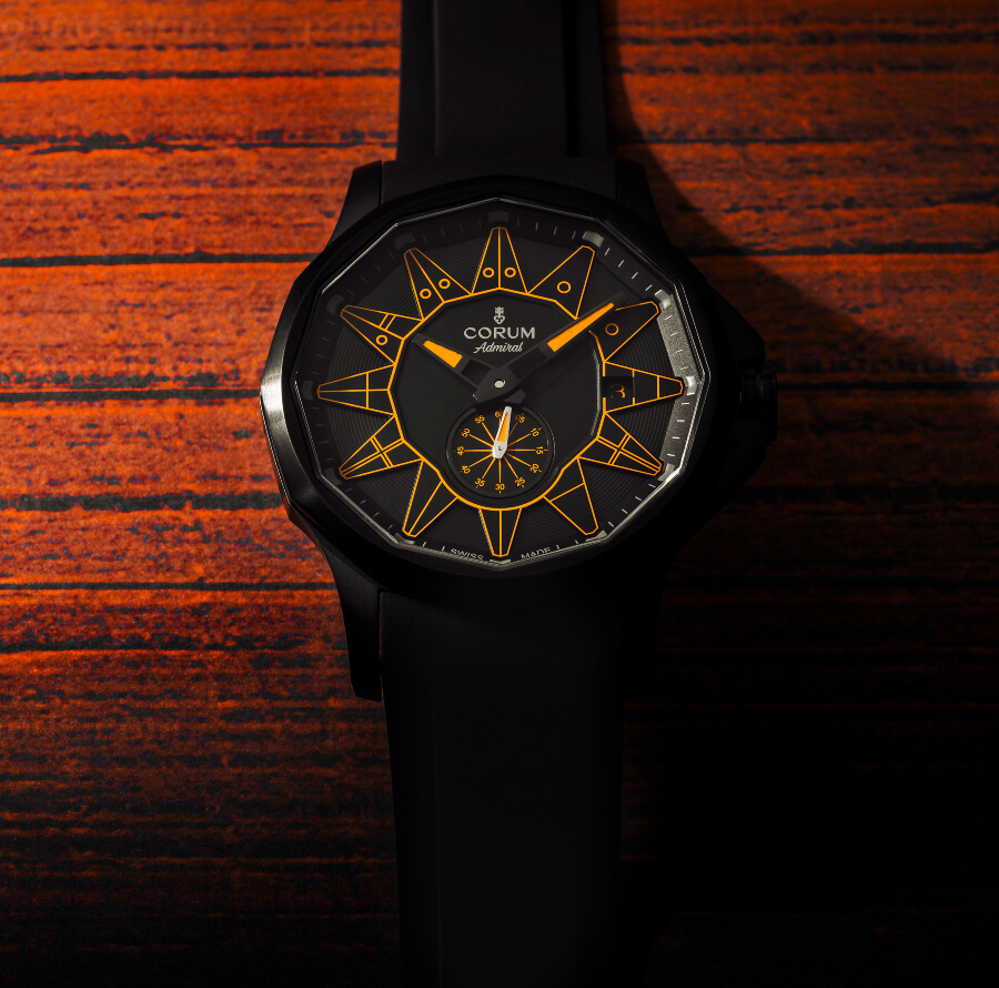 Corum Admiral 42 Automatic Full Black
