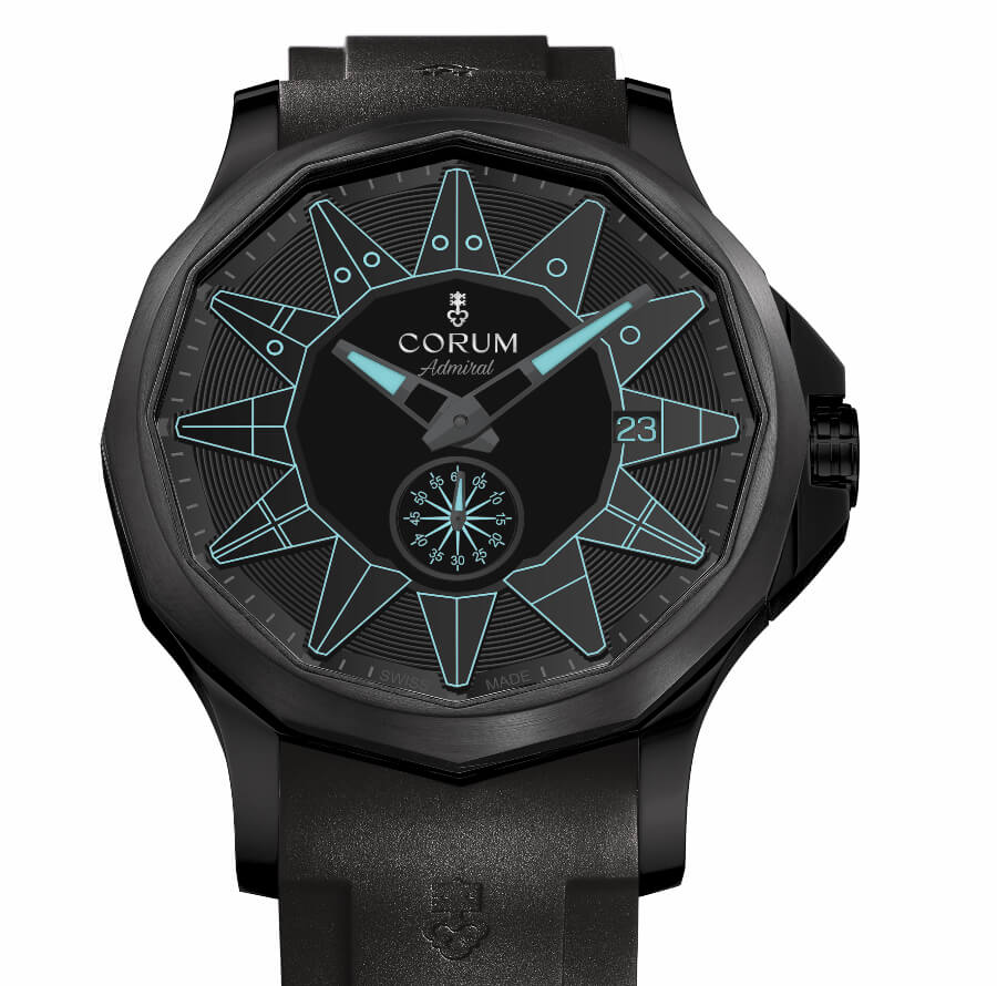 The New Corum Admiral 42 Automatic Full Black