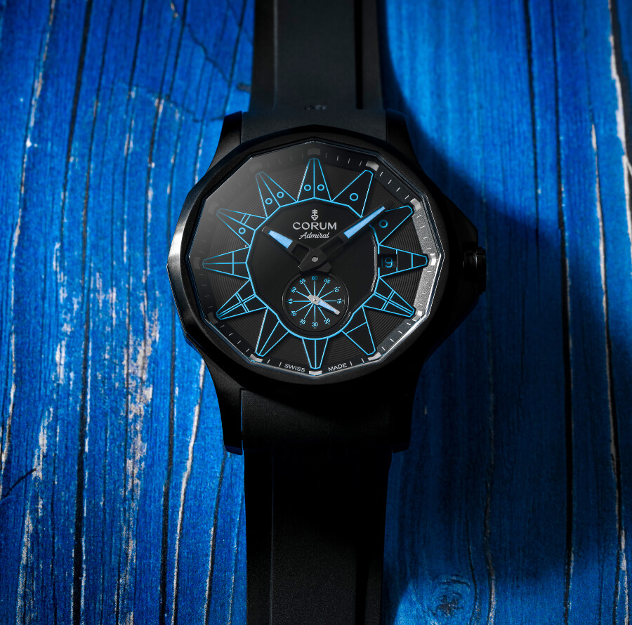 The NewCorum Admiral 42 Automatic Full Black Men Watch Review
