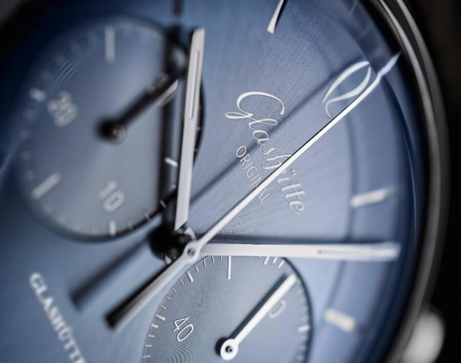 Glashütte Original Sixties Chronograph Annual Edition 2020 Dial