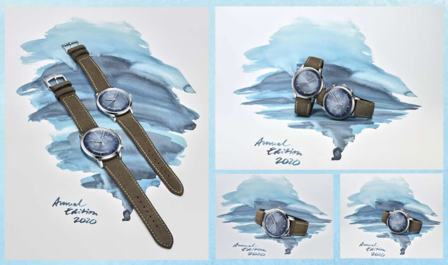 Glashütte Original Sixties and Sixties Chronograph Annual Edition 2020