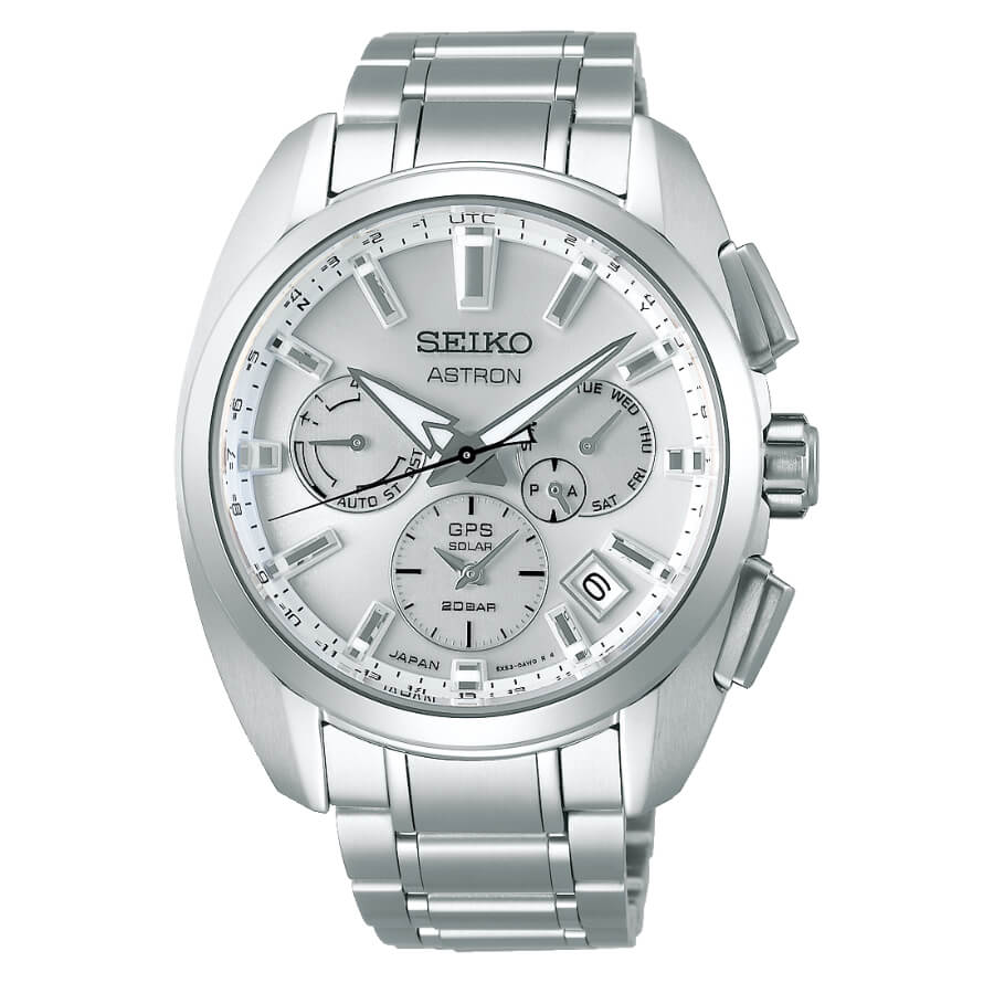 The New Seiko Astron GPS Solar 5X53 Dual-Time Sport Titanium