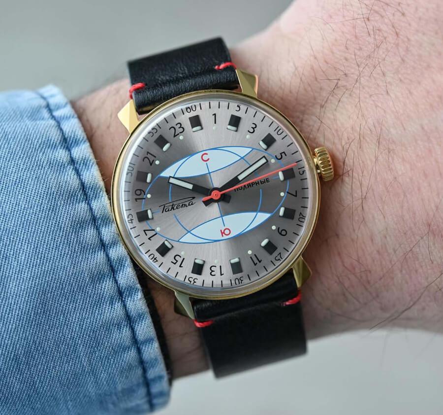 Raketa Polar Watch Re-Edition Watch Review