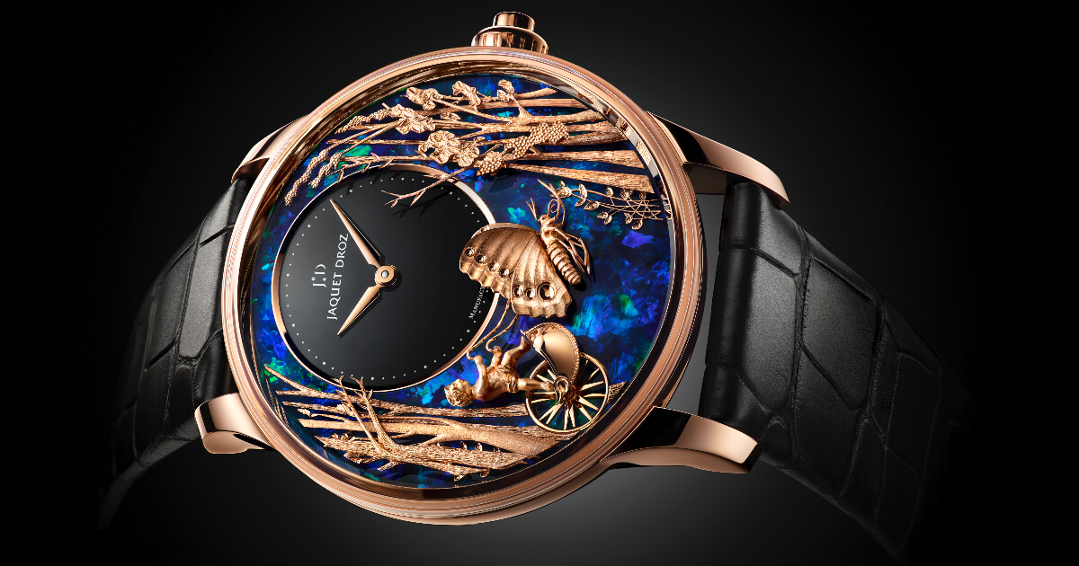 Jaquet Droz Opal Loving Butterfly Automaton (Pictures and Specs)