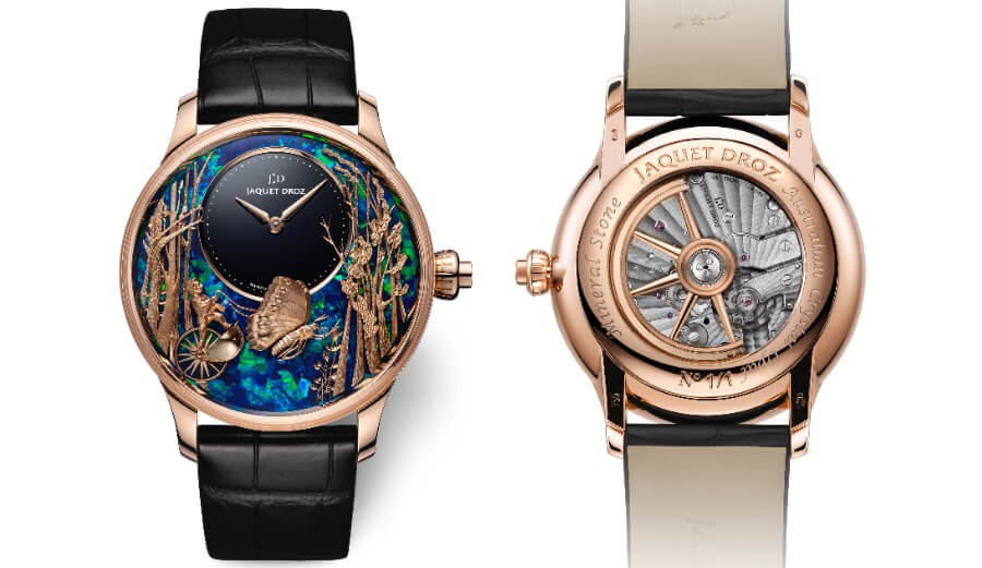 The New Jaquet Droz Opal Loving Butterfly Automaton