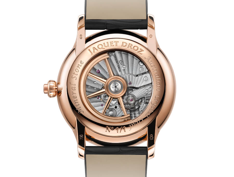 Jaquet Droz Opal Loving Butterfly Automaton In House Movement