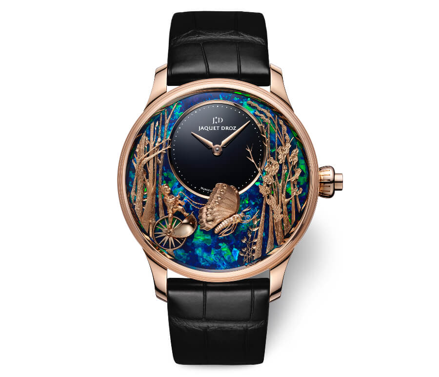 Jaquet Droz Opal Loving Butterfly Automaton For Sale