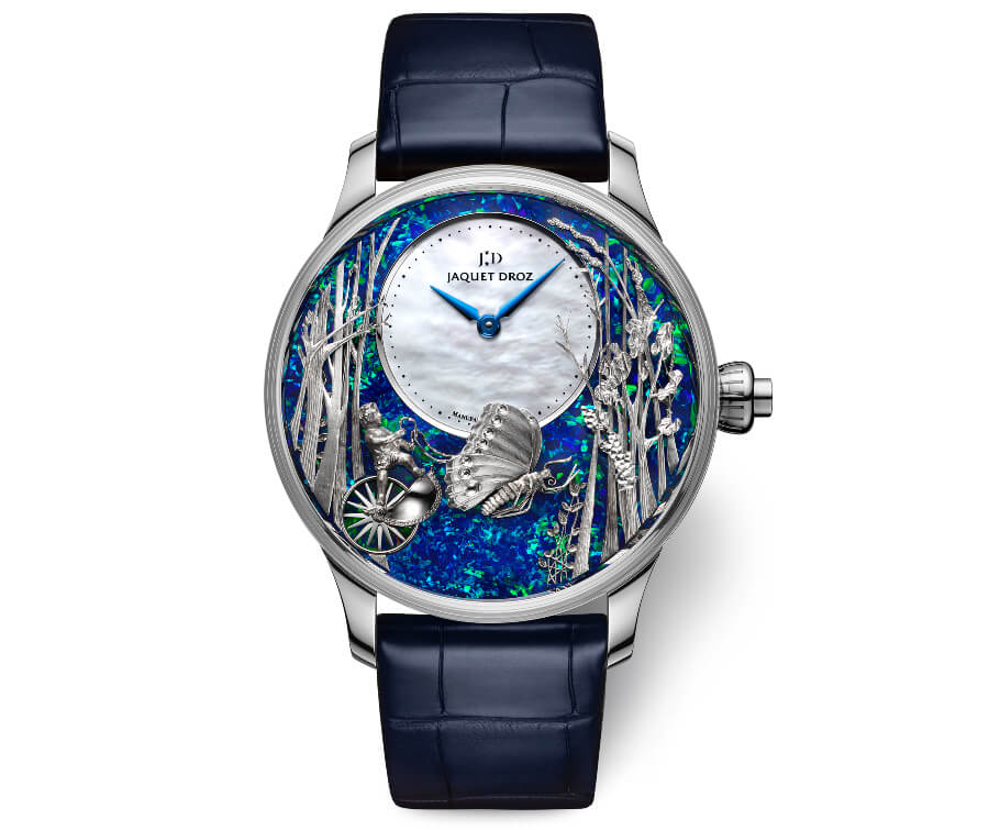 Jaquet Droz Opal Loving Butterfly Automaton Watch Review
