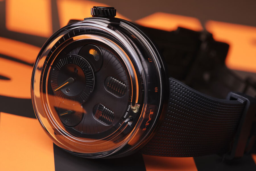 HYT H0 Black & Orange Watch Review