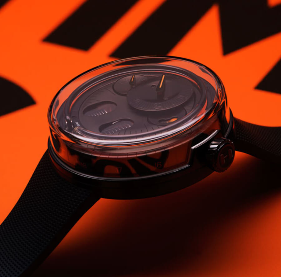 HYT H0 Black & Orange Ref. H02387