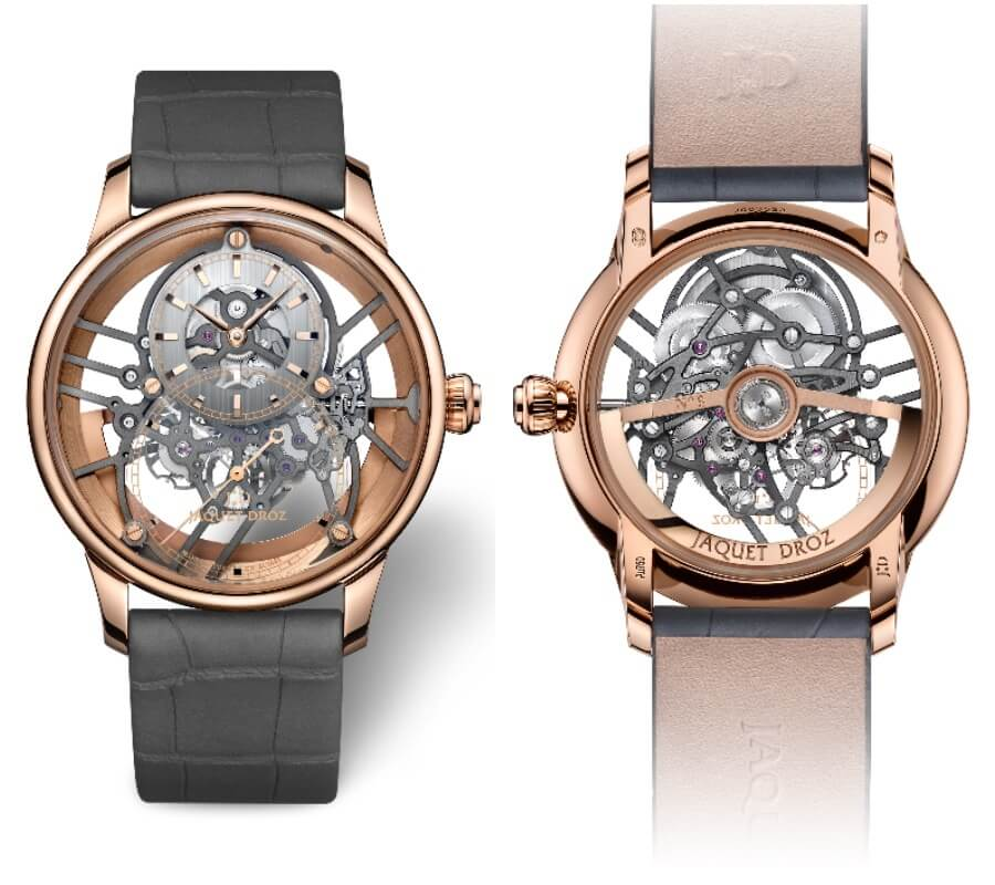 Jaquet Droz Grande Seconde Skelet-One Red Gold Watch Review