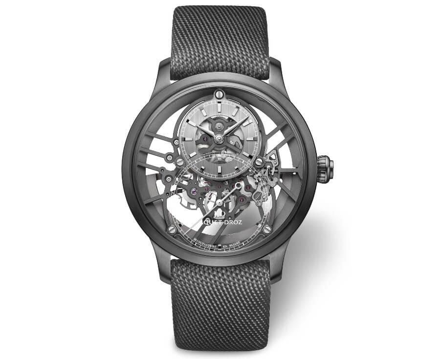 Jaquet Droz Grande Seconde Skelet-One Plasma Ceramic Watch Review