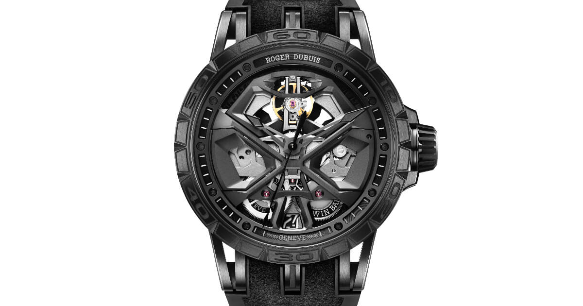 Roger Dubuis Excalibur Huracan Total-Black (Price, Pictures and Specifications)