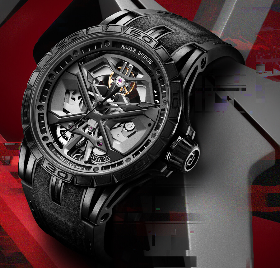 Roger Dubuis Excalibur Huracan Total-Black Watch Review