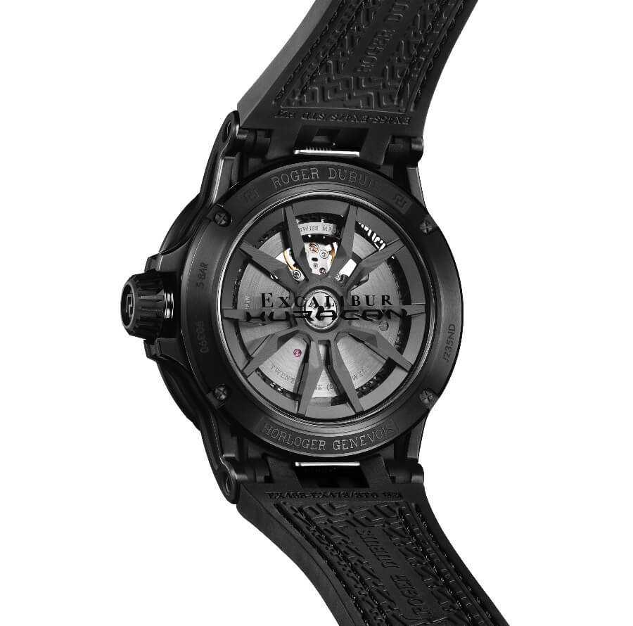 Roger Dubuis Excalibur Huracan Total-Black Ref. RDDBEX0829 Movement