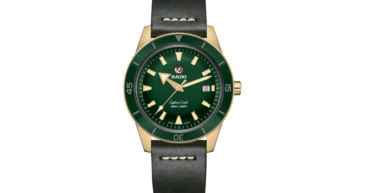 Rado Captain Cook Automatic Bronze (Price, Pictures and Specifications)