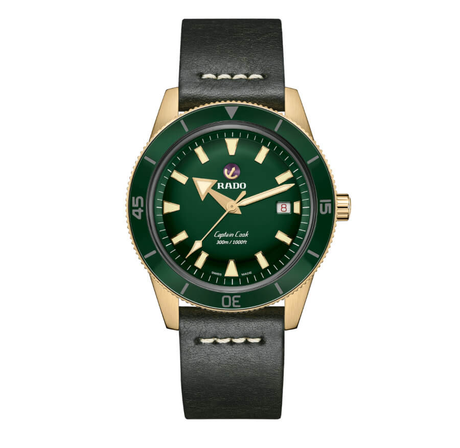 The New Rado Captain Cook Automatic Bronze Diver Watch