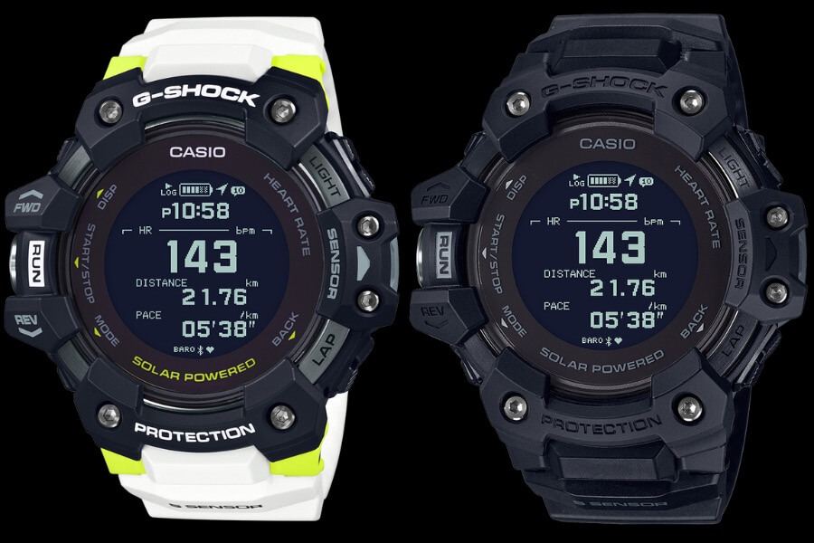 Casio G-Shock GBDH1000 With Built-In Heart Rate Monitor